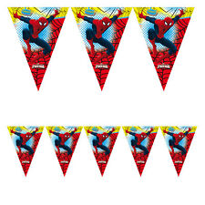 FESTONE BANDIERINA SPIDERMAN ULTIMATE MT.2,3X30H. CM. FESTE COMPLEANNO