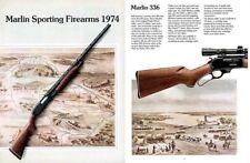 Marlin 1974 Gun Catalog