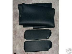 1978-87 monte carlo grand prix sun visors and headliner material black