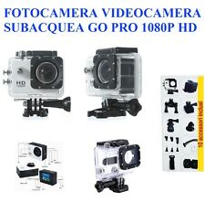 FOTOCAMERA TELECAMERA GO PRO SPORT ACTION 1080P 12MPX ACCESSORI FULL HD SUB