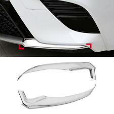 For Toyota Camry 2018 Sport Style Chrome Front Bumper Trim Anti-collision