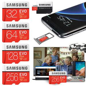 Samsung Evo Plus Micro SD Karte 32GB 64GB 128GB 256GB Speicherkarte SDXC Class10