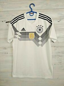 Germany Jersey 2018/19 Home MEDIUM Shirt Trikot Mens Football Adidas BR7843