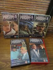 A Touch of Frost   - Five VHS Video Tapes - Nothing to Hide / Minority of one