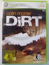 Xbox 360 GAME COLIN MCRAE DIRT ,USED BUT GOOD
