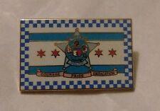 Chicago Police Department Flag Lapel Tie Pin