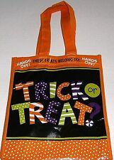 "Reusable HALLOWEEN TRICK OR TREAT Tote Bag     10"" X 8.5"" X 6"""