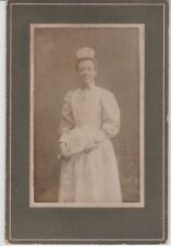 Nurse Graduate With Diploma Mounted Cdv 3 1/2 x 5
