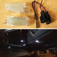 Luci a LED Vano Piedi Porta di Cortesia Portaoggetti Bagagliaio VW Skoda Seat