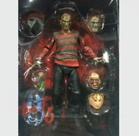 "Nightmare on Elm Street Ultimate Freddy Krueger 7"" Action Figure NEW Collection"