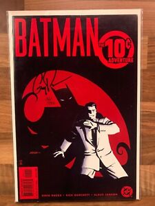 BATMAN THE 10-CENT ADVENTURE signed by GREG RUCKA DYNAMIC FORCES COA