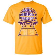 Men's Los Angeles Lakers 2020 Basketball Champions 2020 Gold T-Shirt M-3XL