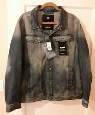 G-Star Raw Men's 3D Aged Restored Vintage Jean Jacket, XX Large 2XL NEW