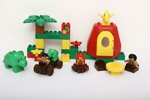 Lego Duplo Dino Set 2602-1 Dinosaurs Family Home 100% complete - no backpack