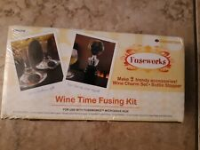Wine Time Fusing Kit Wine Accessories Wine Charm Kit Wine Bottle Stopper