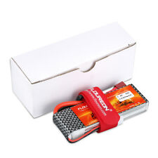 Floureon 2S 2200mAh 7.4V 35C with T Plug LiPo Battery Pack for RC Evader BX Car