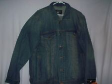 Beverly Hills Polo Club Blue Denim Jacket   Size Large