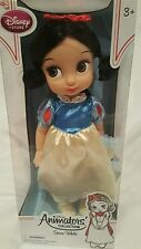 "Authentic Disney Snow White Animators Collection Doll Size 15"" Age 3+"