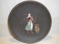 Ruscha Keramik - Wandteller - Orig. Kiechle 404 - Handarbeit - WPG - 50/60er