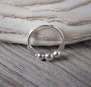 Tragus,Cartilage Hoop Earring,Nose Ring,Eyebrow Piercing 925 Sterling Silver