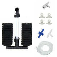 10-layer Bio Sponge Filter for Aquarium Fish Tank Up to 55 Gal with Accessories
