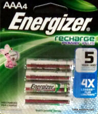 ToKaLand Energizer AAA Rechargeable Power Plus Batteries 4 Pack 700 mAh