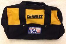 "New Dewalt N037466 Heavy Duty Ballistic Nylon Tool Bag 13"" w/ Runners Made n USA"