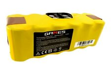 Akku für Staubsauger Irobot 650-5200mAh 14,4V Li-Ion GARES Marke