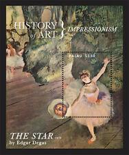 Palau - 2013 - History of Art-Impressionism - Souvenir Sheet - MNH