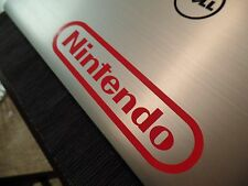 SNES NES Nintendo Vinyl Sticker Decal Gloss Red 6.50 inches by 1.50 inches