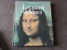 livre. léonard de Vinci.  les géants de l'histoire. 1980.