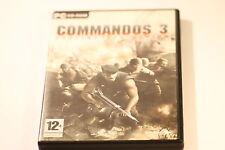 COMMANDOS 3 DESTINATION BERLIN  PC GAME BY EIDOS  2003