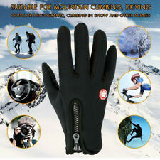 Us Winter Warm Windproof Waterproof Thermal Gloves Touch Screen Mittens Unsiex