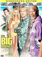 The Big Bounce-Warner DVD Widescreen-Region 1- Owen Wilson, Morgan Freeman