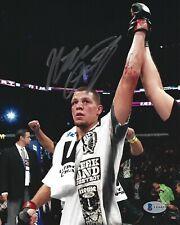 Nate Diaz Signed 8x10 Photo BAS Beckett COA UFC Picture Autograph 196 202 241 4