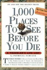 1000 Places to See Before You Die by Patricia Schultz FUN Book Travel Summer🌸
