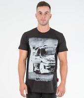 Nissan Silvia S14 200SX SR20 Drift JDM Car Turbo Mens Black Cotton Tee Shirt