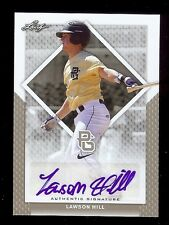 LAWSON HILL 2016 Leaf *PERFECT GAME* Certified AUTOGRAPH RC