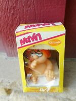 """NRFB 1982 FUN WORLD--5"""" MARVIN SQUEAKY TOY FIGURE (s6)"""