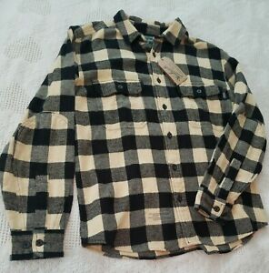Woolrich Flannel Jacket /  Shirt Mens M New with Tags