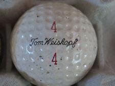 (1) TOM WEISKOPF SIGNATURE LOGO GOLF BALL ( MACGREGOR VULCANIZED CIR 1962) #4/4