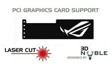 BLACK - ROG EYES - GPU Anti-Sagging Support Bracket Brace AMD ROG 1080TI GTX RTX