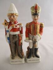 Vintage Porcelain French Cavalry Officers Figurine/Ornament, 16cm - Collectable