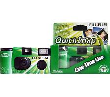 10x Fujifilm Quicksnap Super 400 Disposable Camera - 270 Exposures