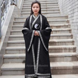 Wudang Taoist Robe Shaolin Kung Fu Uniform Tai Chi Martial Arts Wu Shu Suit Gown