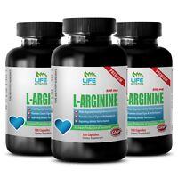Bodybuilding Supplements - L-Arginine 500mg - Nitric Oxide Booster 3B