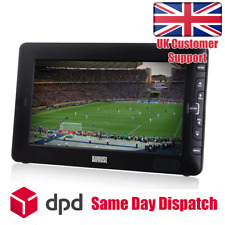 "9"" Portable Freeview TV - August DTV 905 (LCD Screen & Multimedia Player)"