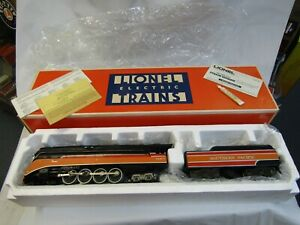 LIONEL 6-8307 SOUTHERN PACIFIC DAYLIGHT 4-8-4  O GAUGE . 3 RAIL NIB TESTED