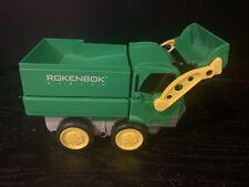 Rokenbok System Rc Green Classic Loader Dump Truck Vehicle