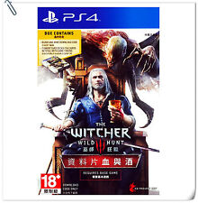 PS4 The Witcher 3 Blood and Wine Expansion with Gwent Decks SONY PLAYSTATION